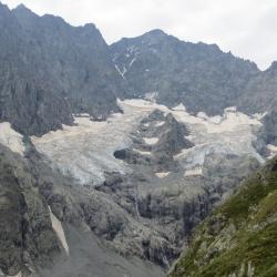 glacier en face de la montée à Adèle Planchard
