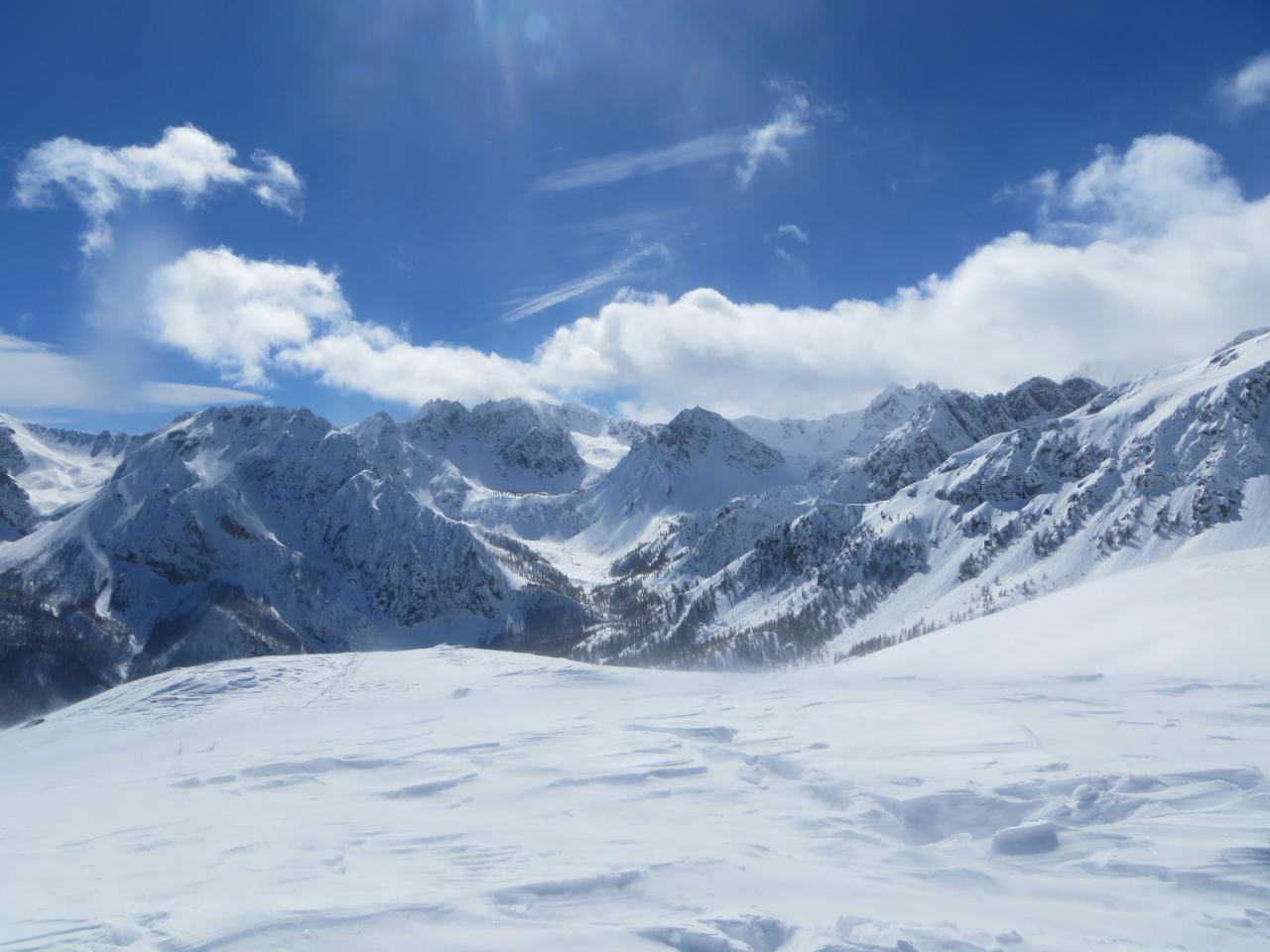 Du mont Estelleta Val Maira