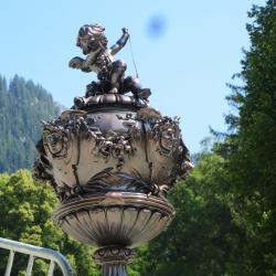Dans le parc du château Linderhof