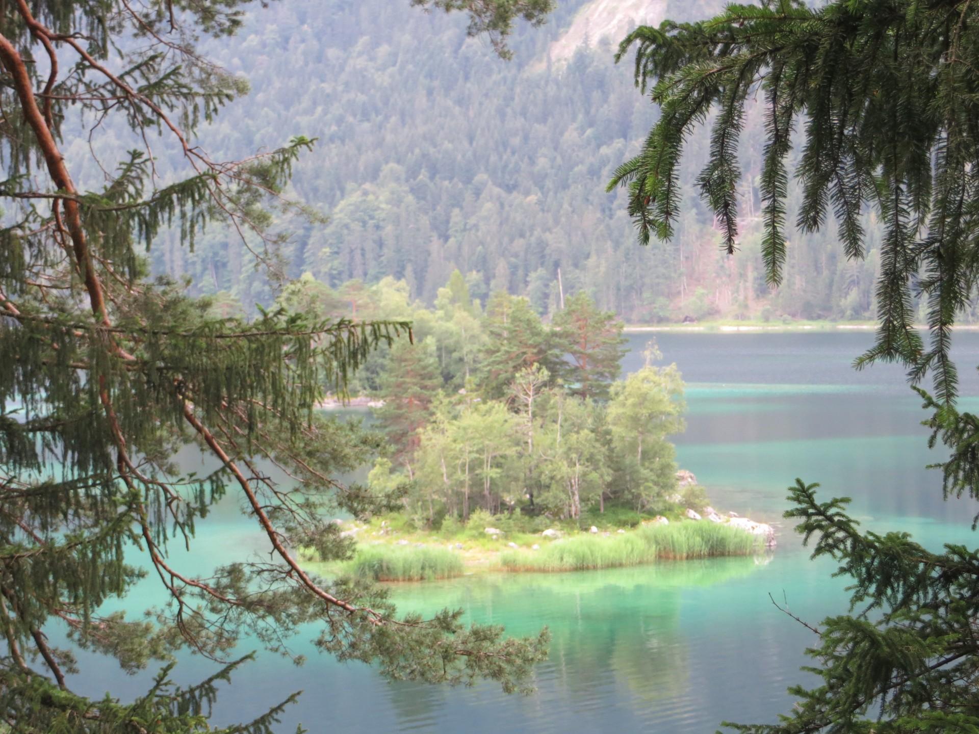 Tour du lac à Eibsee