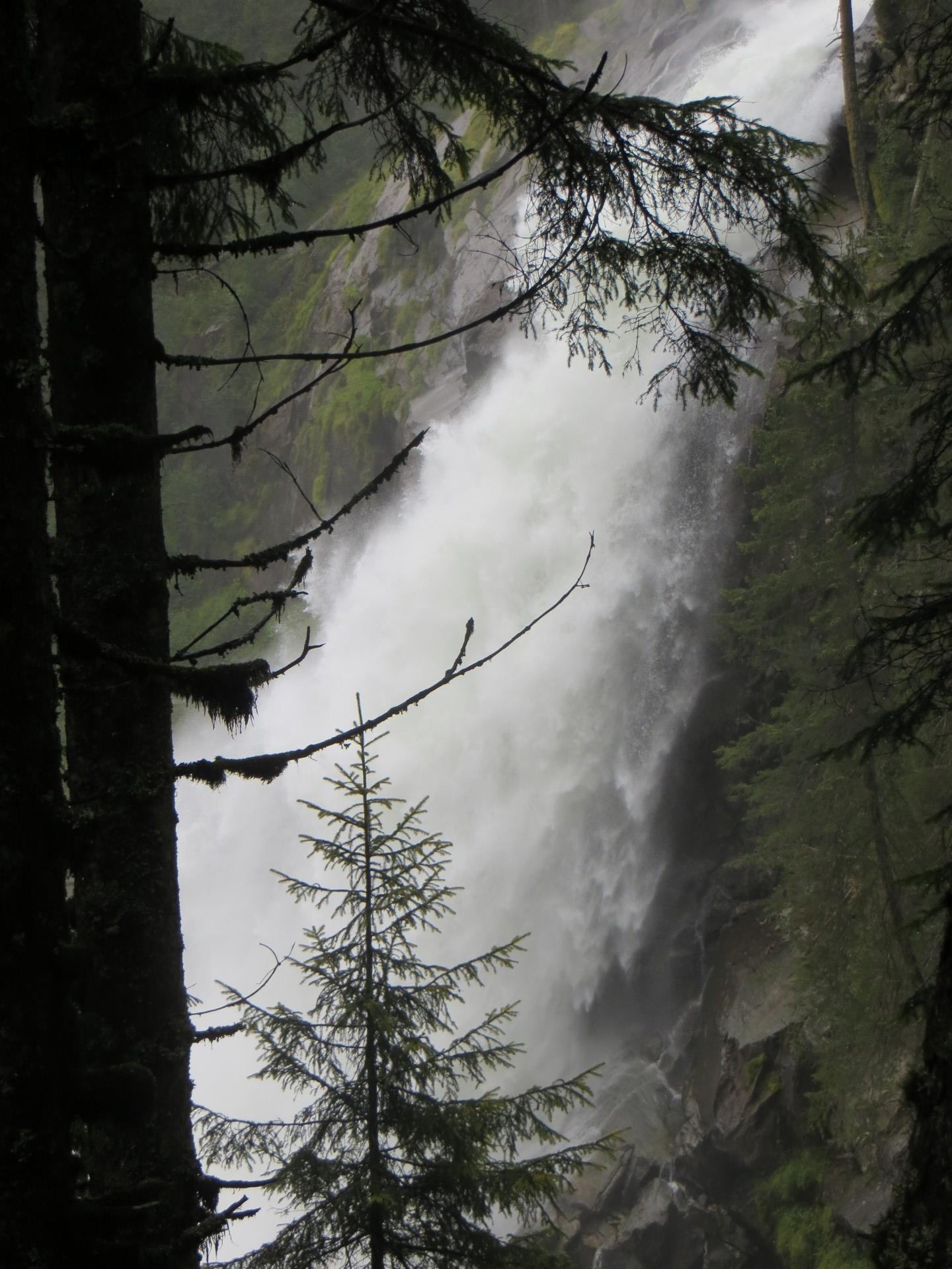 cascades vallée de Krimml
