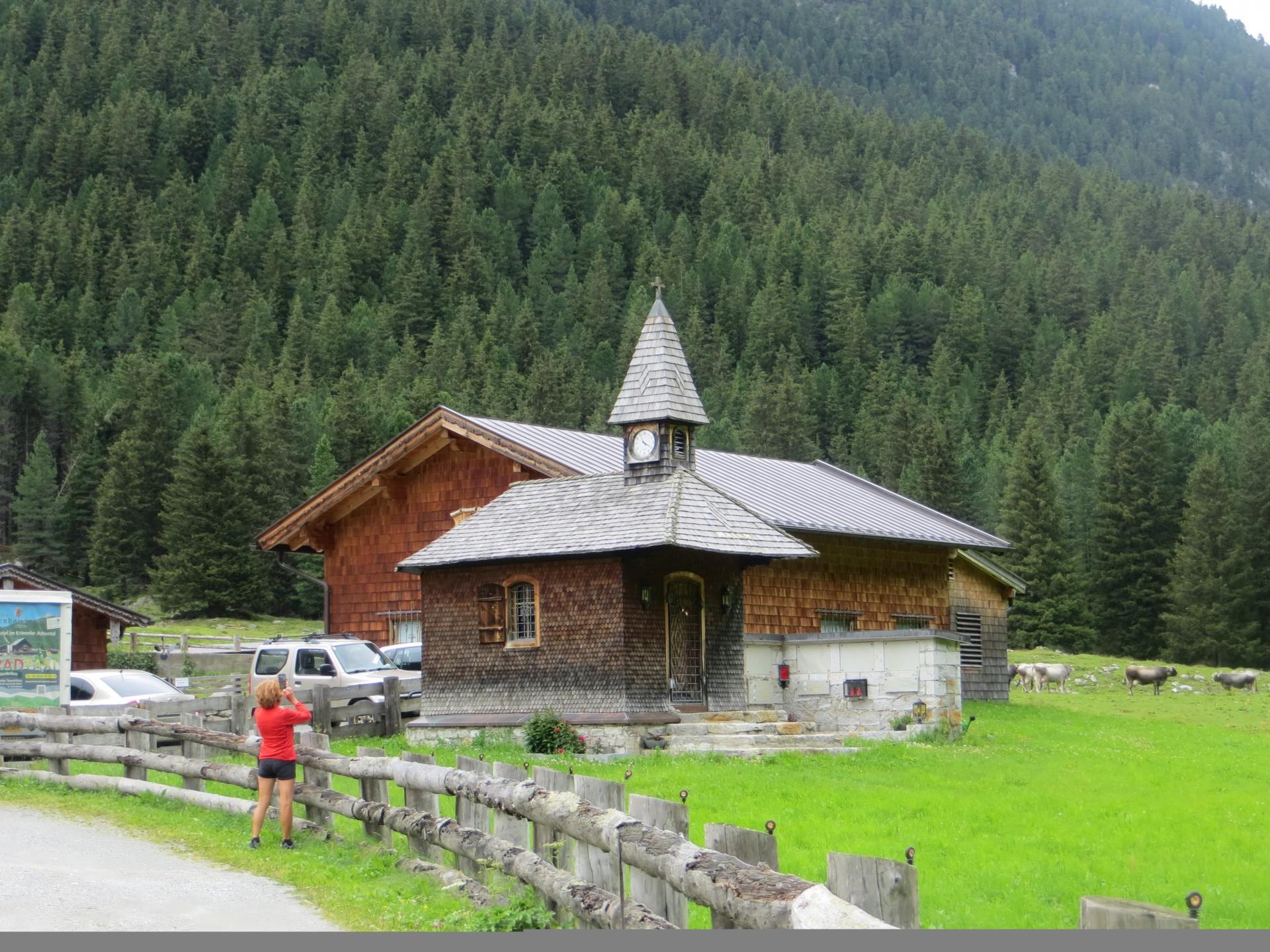 Eglise à coté du refuge Krimmltauernhaus