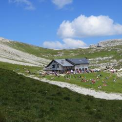 refuge Bozen Dolomites