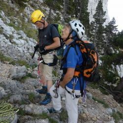 Mont Aiguille préparation à l'ascension
