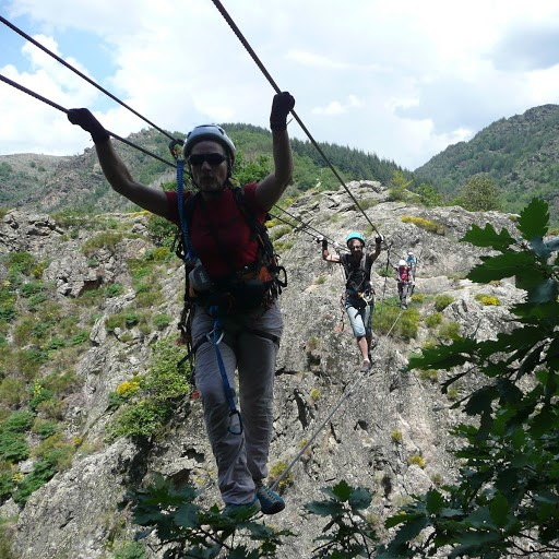 Via ferrata de Villefort ardeche