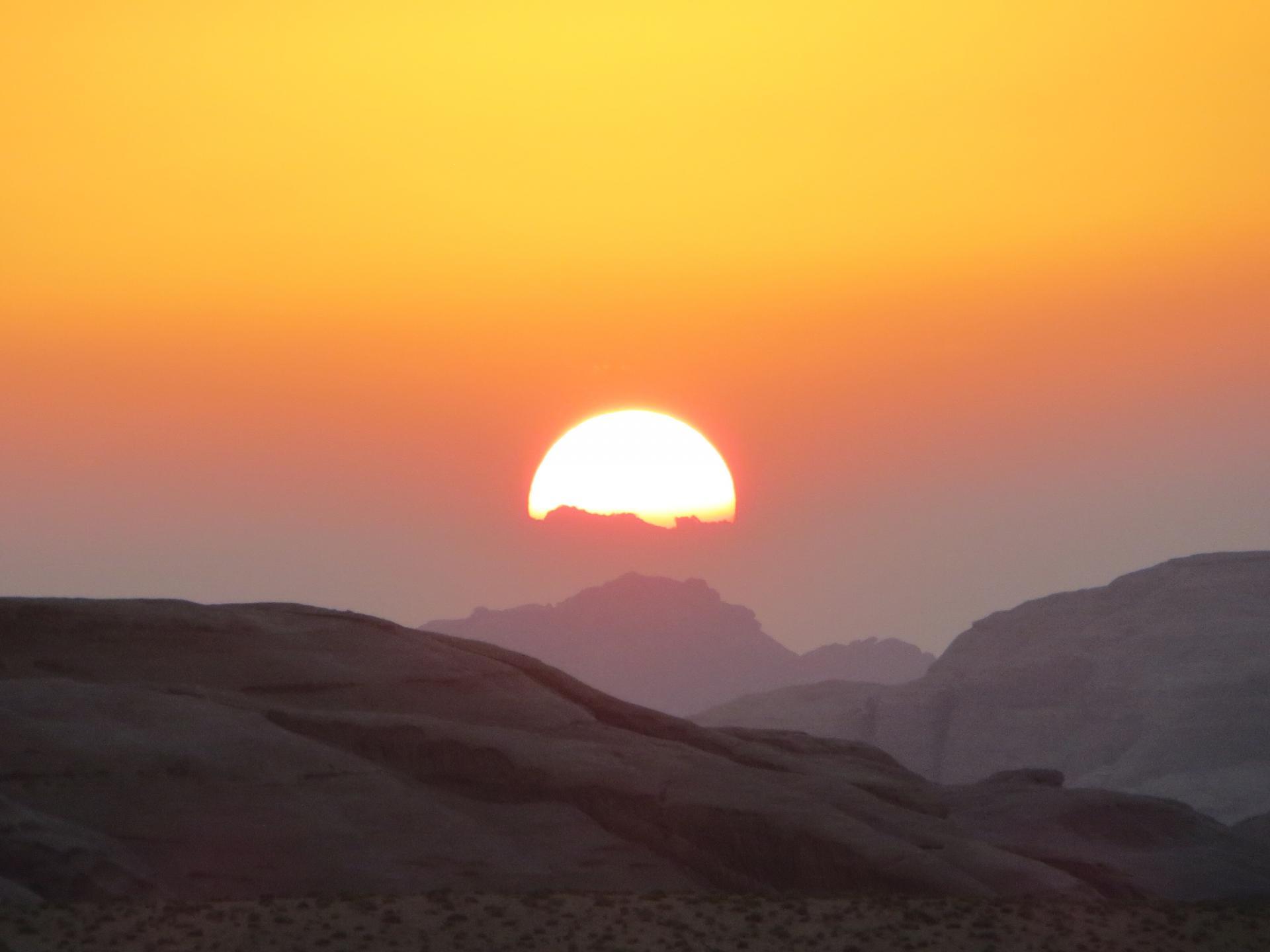 Soleil jordanien